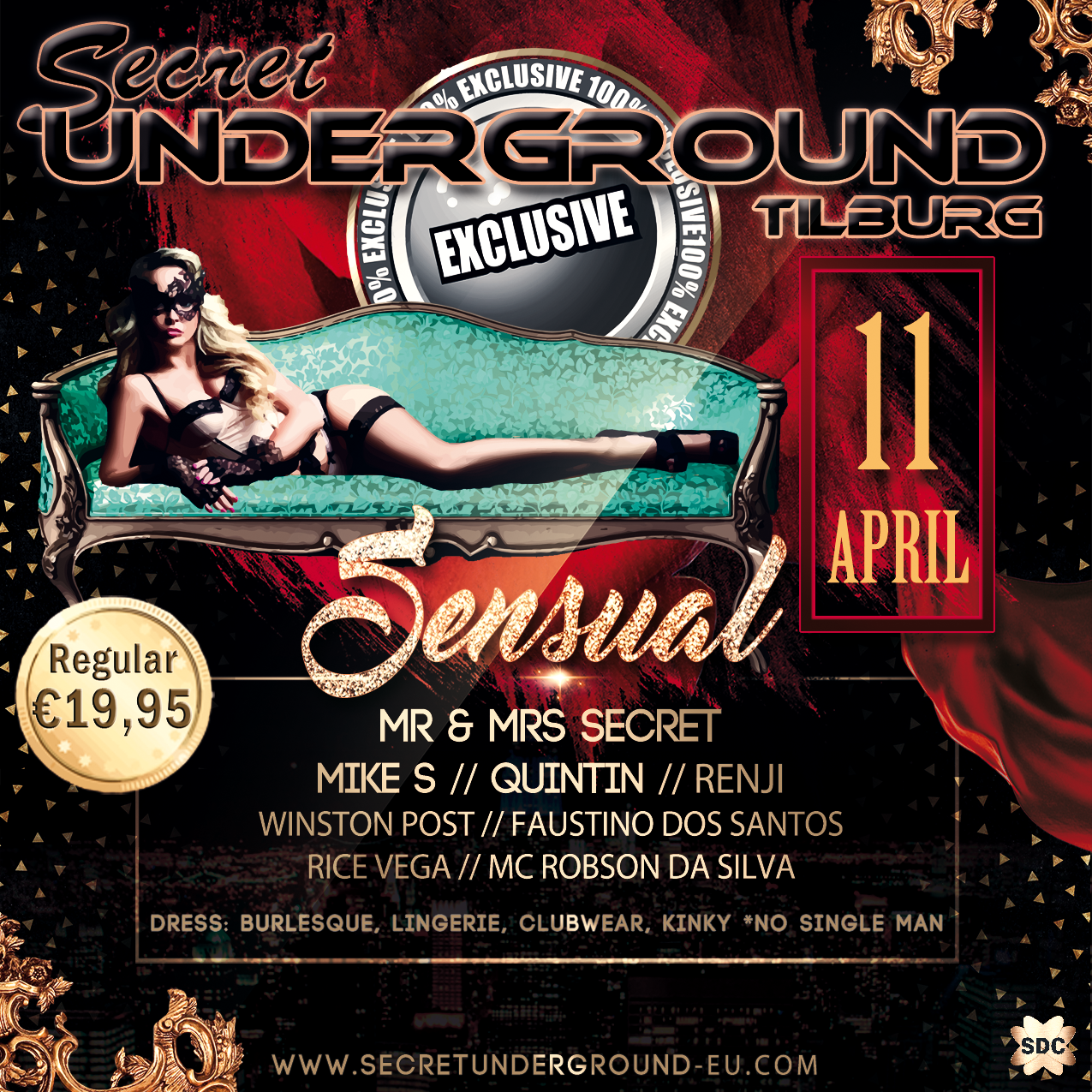 Secret Underground Sensual Exclusive 31-10-2020