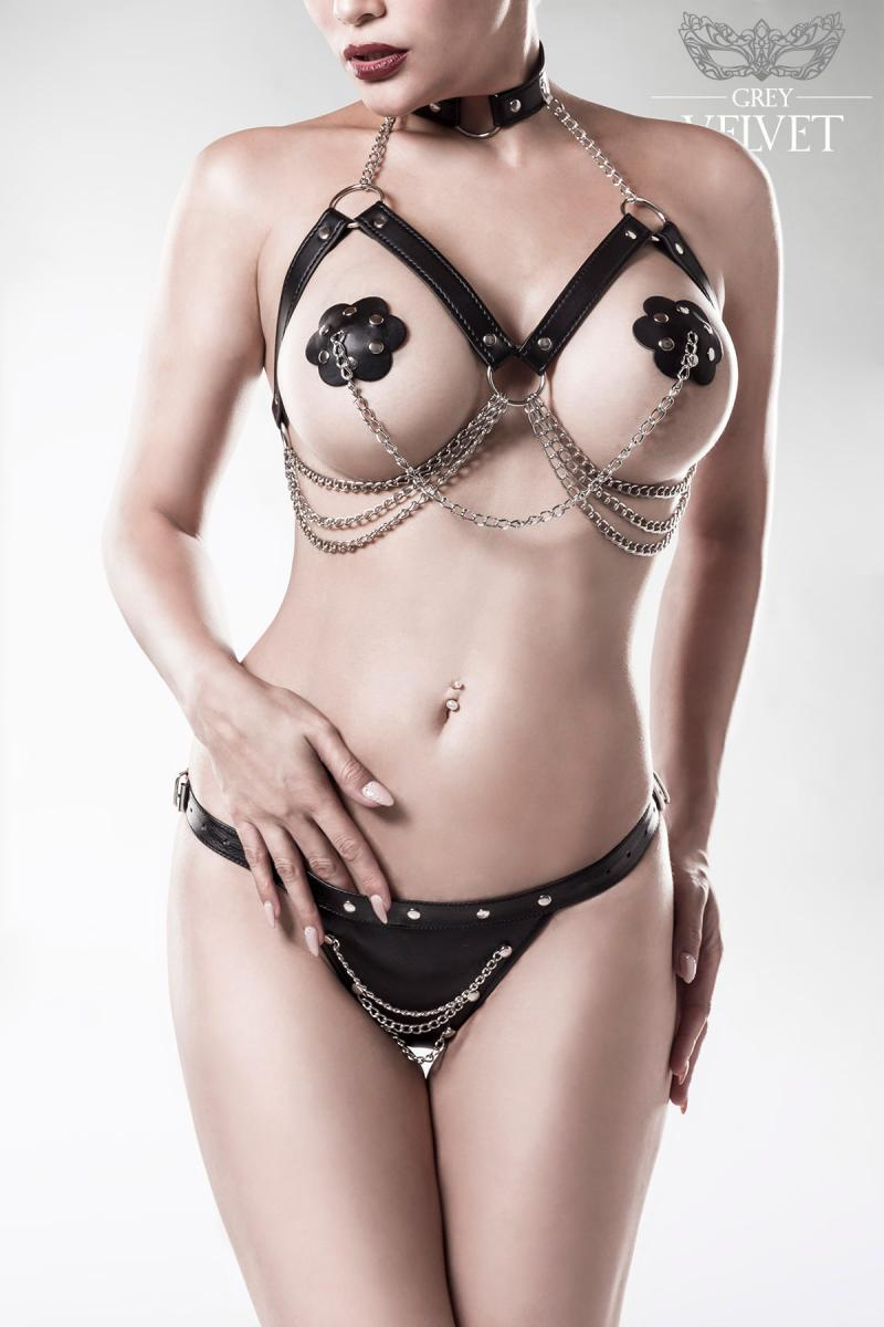 sexy set met kettingen