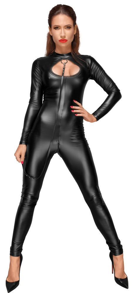 Wetlook Catsuit Leash