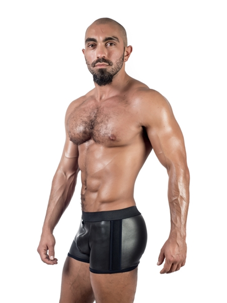 rubber short