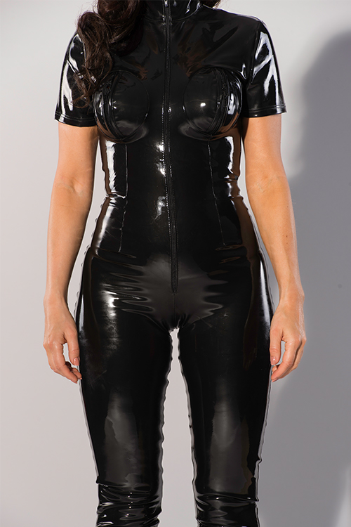 datex zwarte catsuit