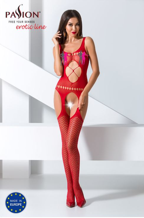 Bodystocking 057 Red