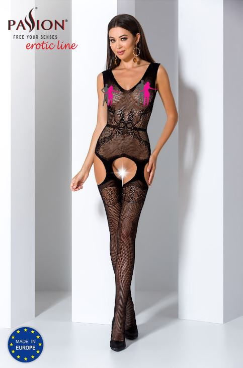 Bodystocking 062 Zwart