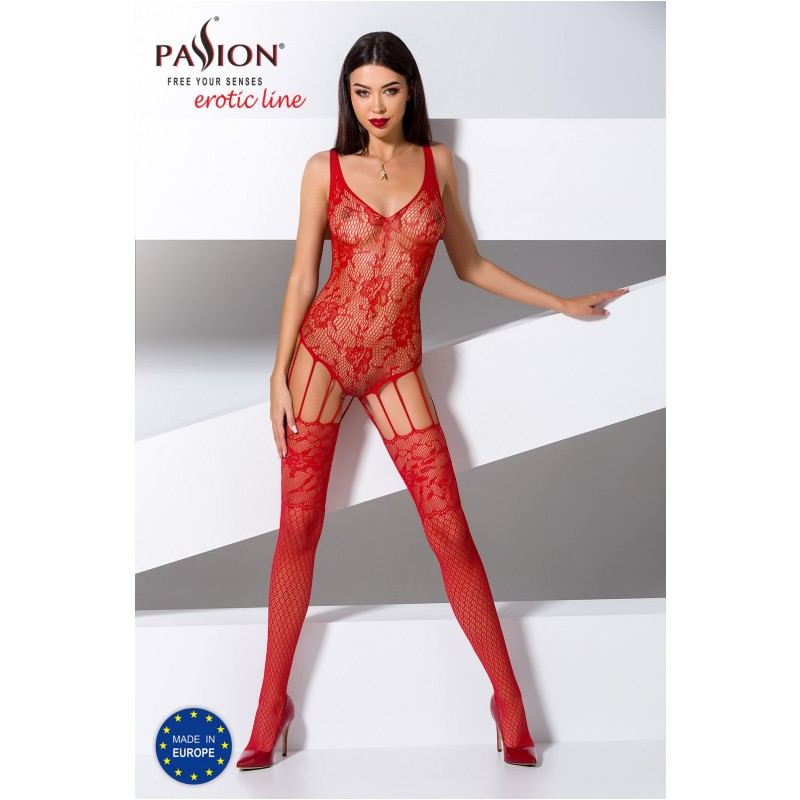 Bodystocking 074 Red 1