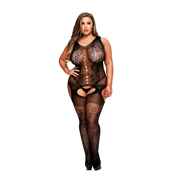 Bodystocking Carli Queen Size - Baci 1