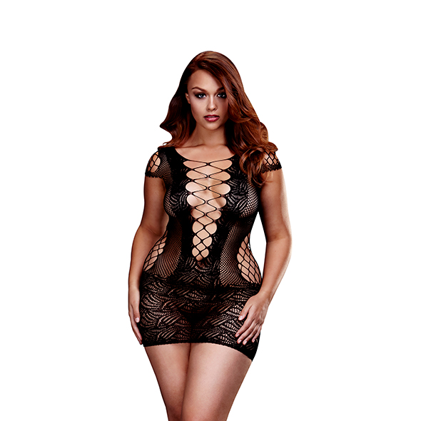 Bodystocking Jurkje Cristel Queen Size - Baci 1