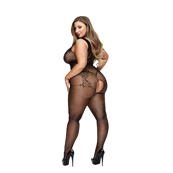 Bodystocking Shirley Queen Size - Baci