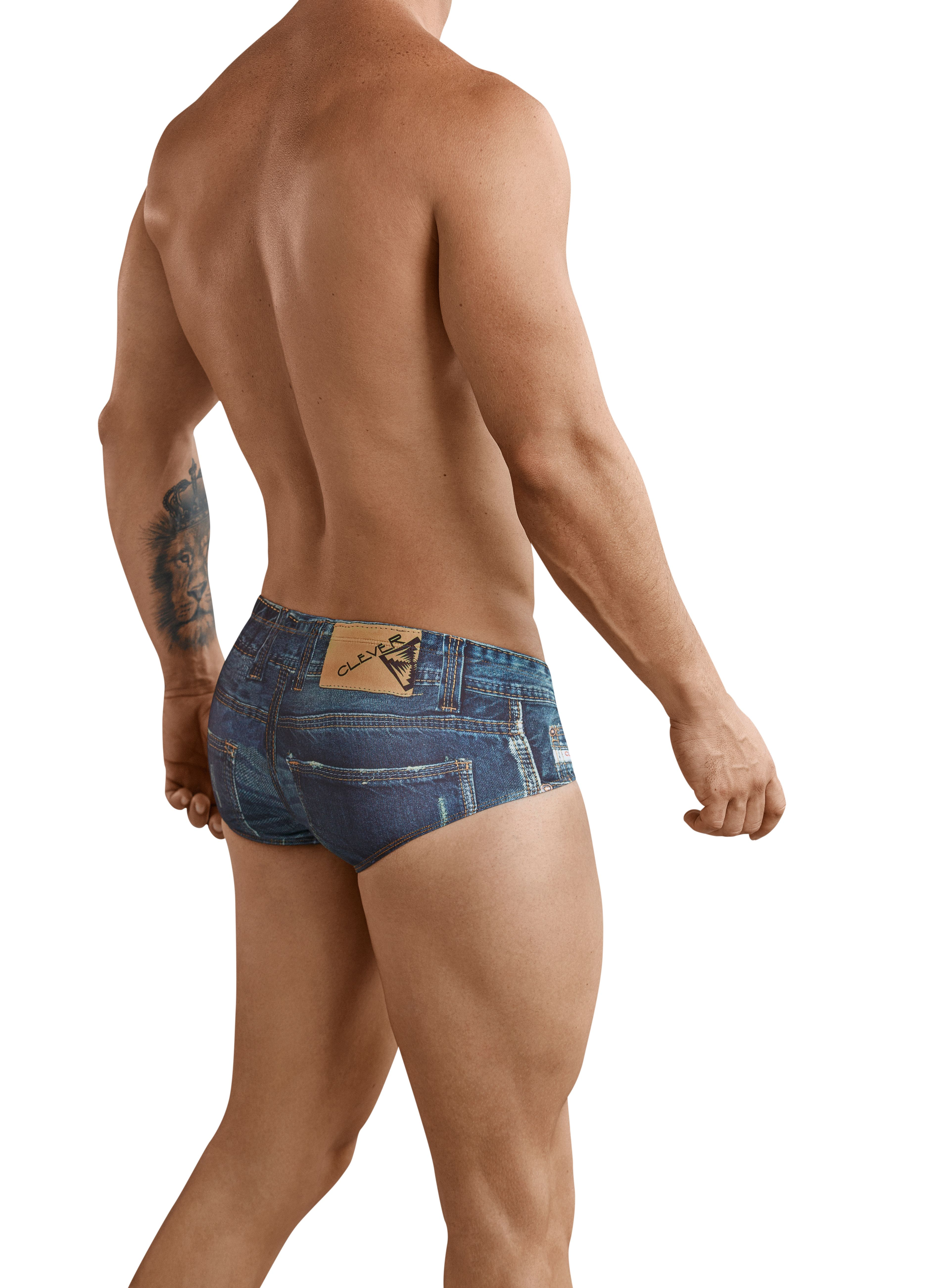 Denim Jeans Latin Brief - Clever 2
