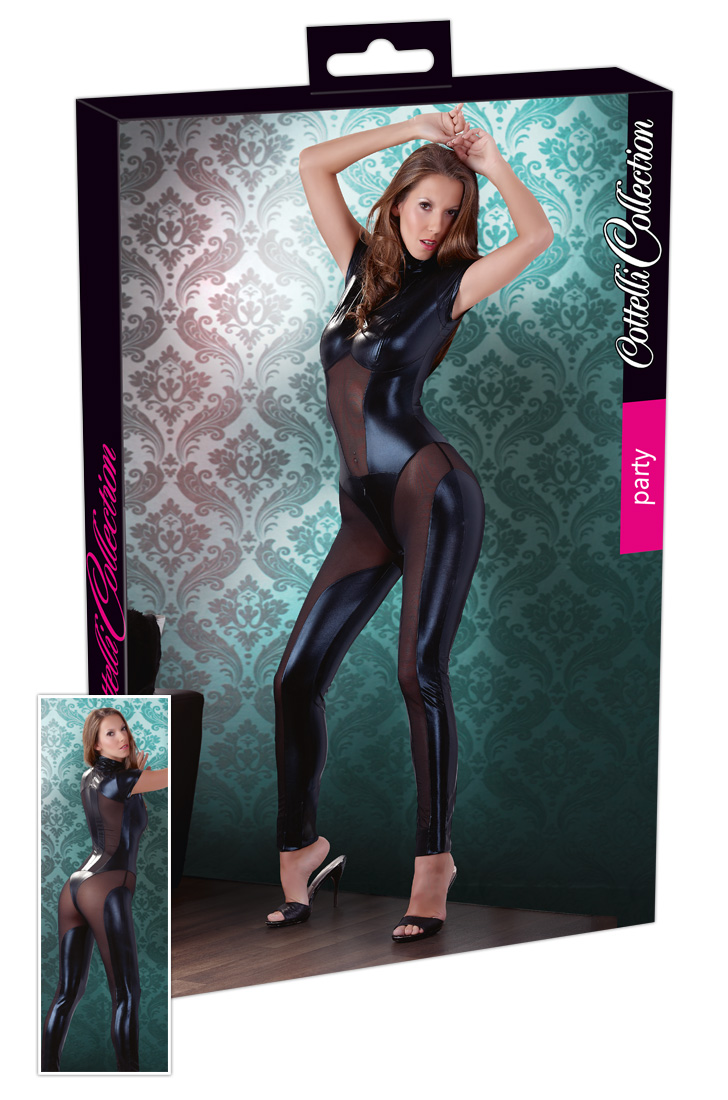 super sexy catsuit van wetlook en gaas