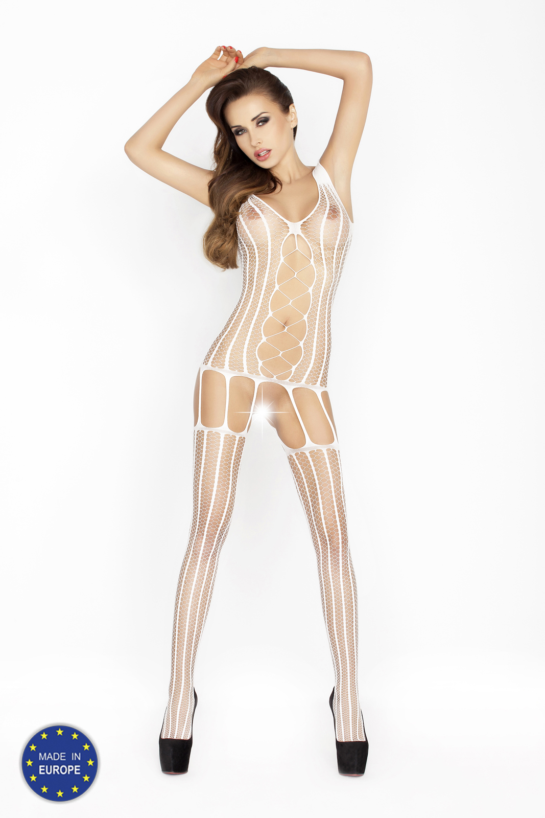 geile witte bodystocking