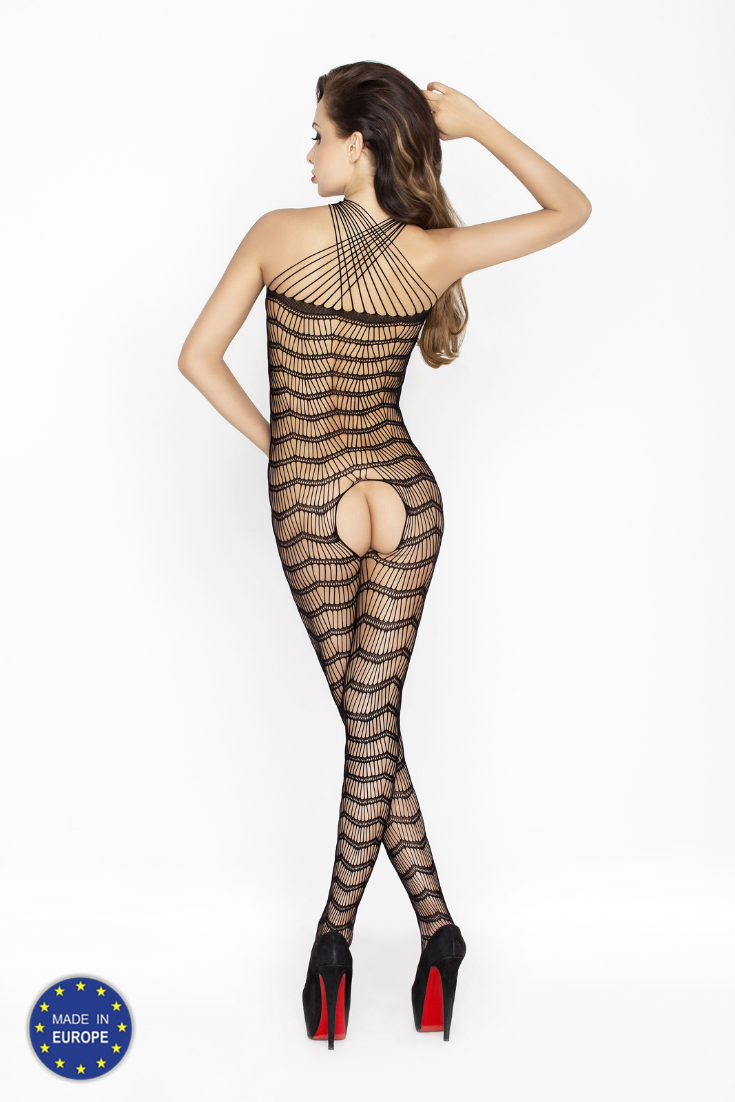 sexy zwarte bodystocking