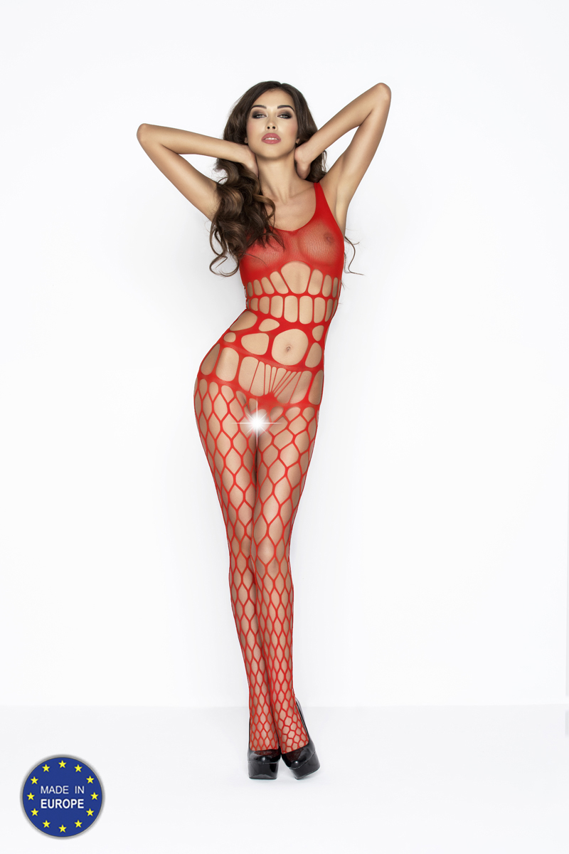 sexy en sjieke rode bodystocking Passion
