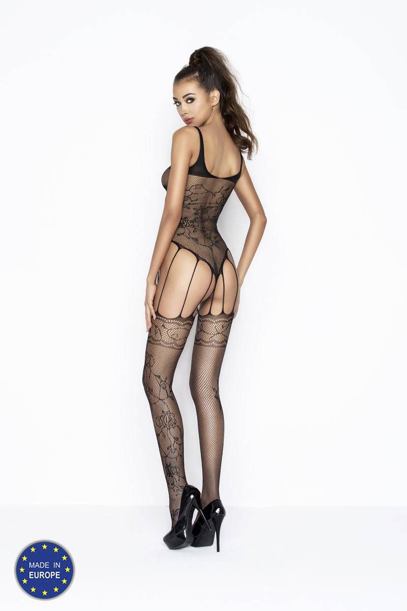 sexy bodystocking met jarretelles