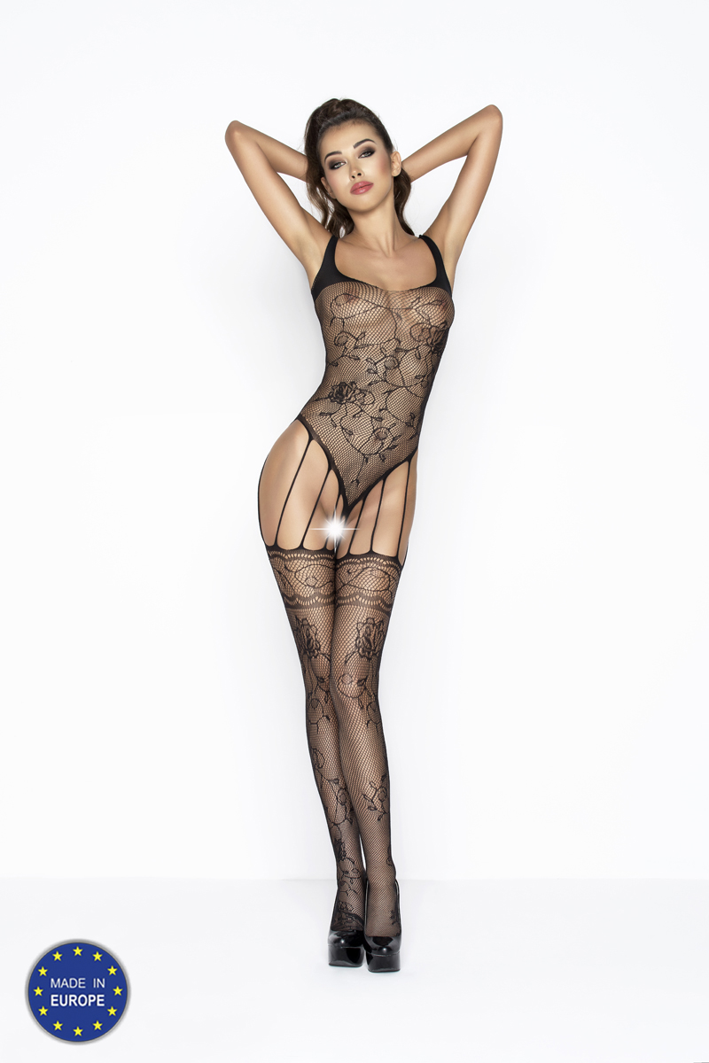 jarretelles bodystocking