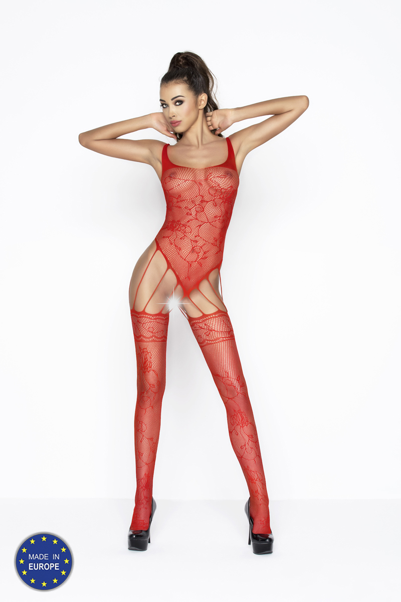 sexy rode bodystocking