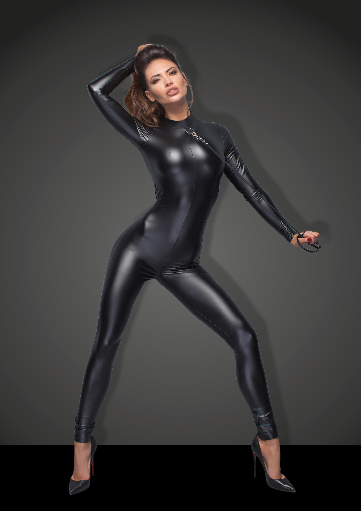 sexy catsuit wetlook