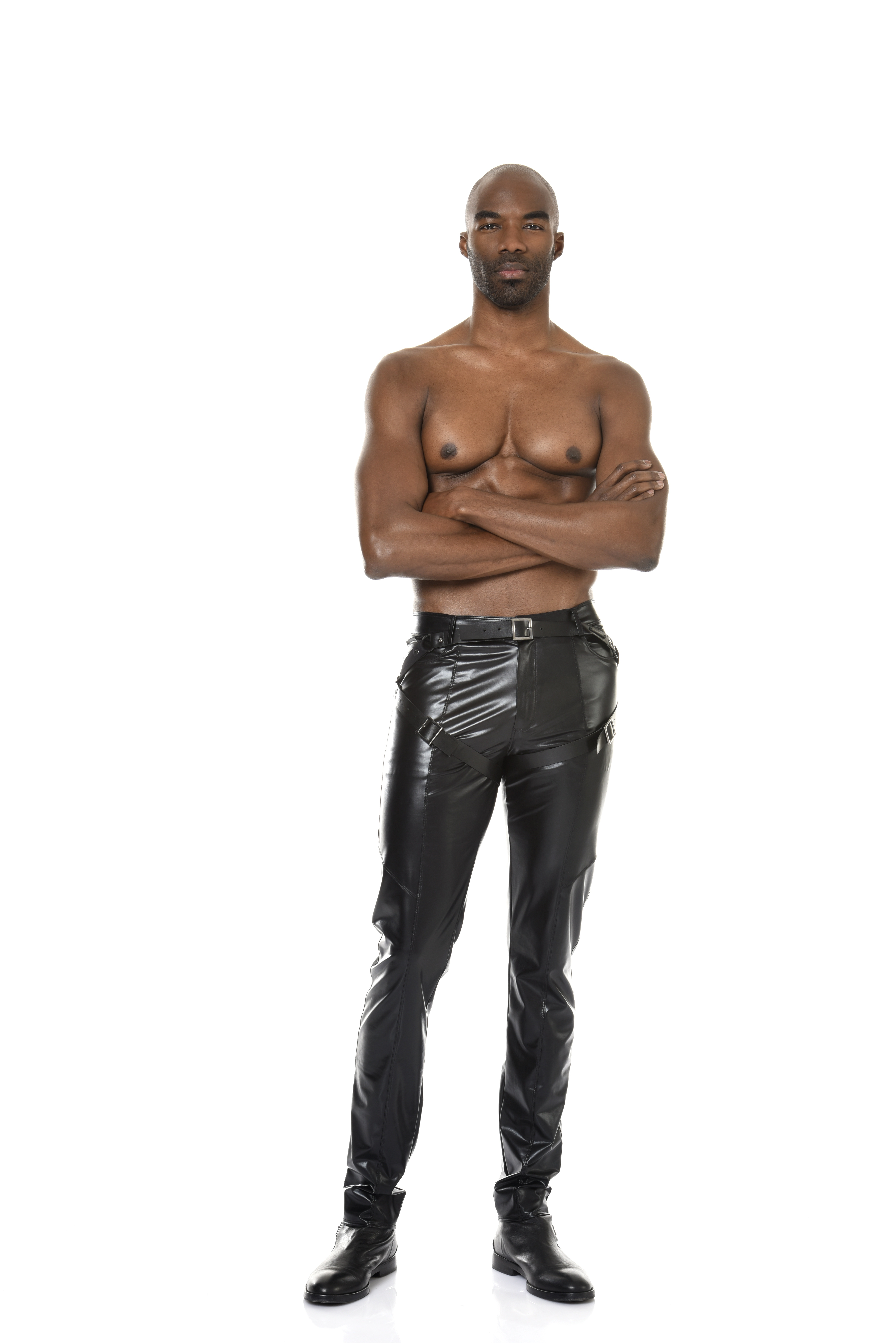 wetlook broek joss