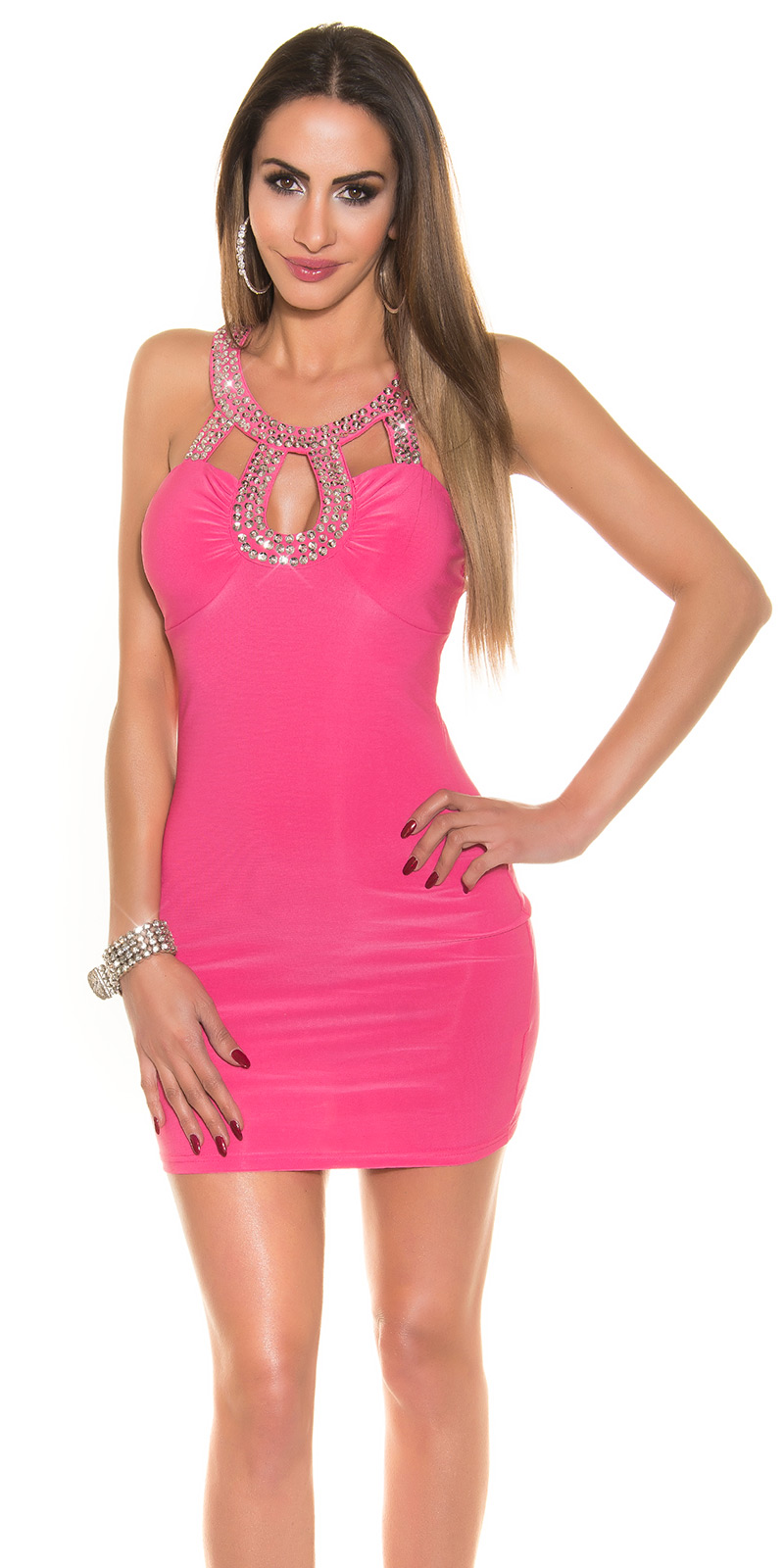 party dress roze