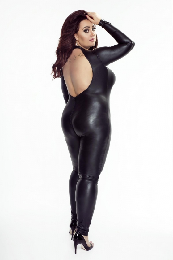 Plus size catsuits